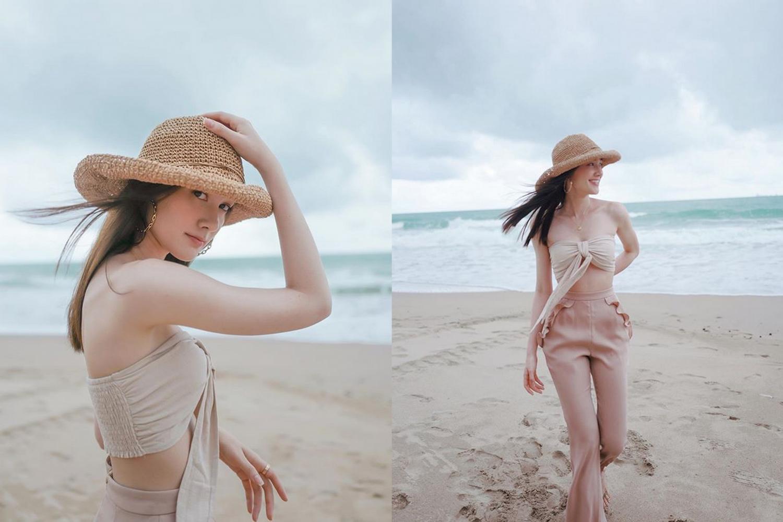 เดียร์น่า ฟลีโป เผยรูปน่ารักไปเที่ยวทะเล