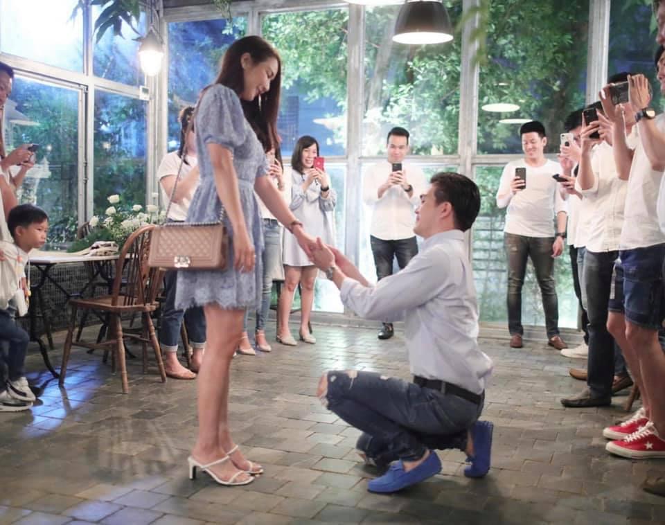 จั๊กจั่น อคัมย์สิริ ที่มีข่าวลือว่าฝ่ายชายขอแต่งงานเพื่อผลประโยชน์