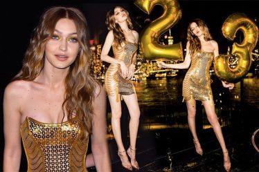 Gigi Hadid ฉลองวันเกิดครบรอบ 26 ปี