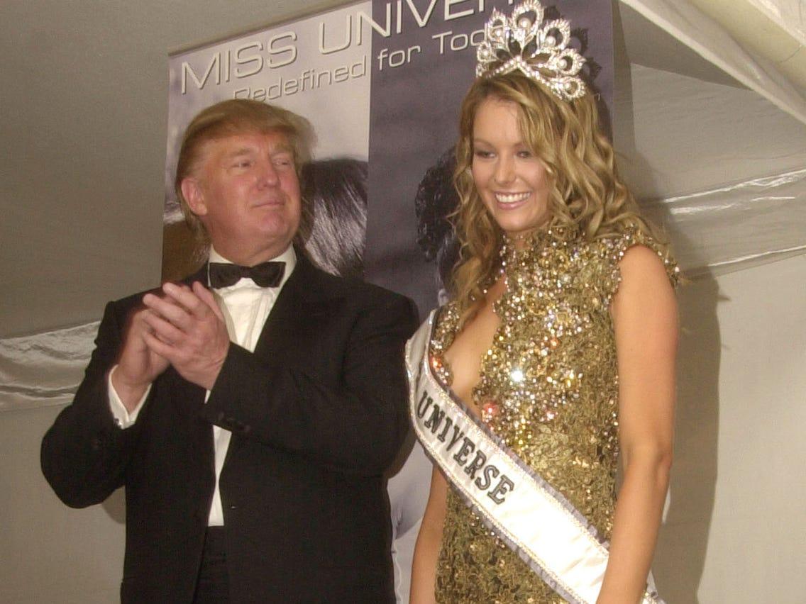 """เอมมี่ มรกต แฉ """"โดนัลด์ ทรัมป์"""" เคยแหกกฎบุกถึงหลังเวที Miss Universe 2004"""